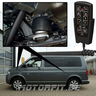 Luftfederung für Volkswagen Transporter - T5 2003-2015 - 2,6t - 3,08t Vorderachse & Hinterachse Voll-Luftfederung – Bild 1