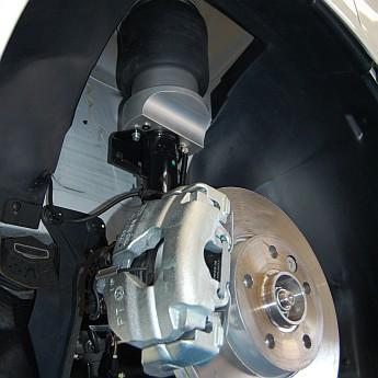 Luftfederung für Volkswagen Transporter - T5 2003-2015 - 2,6t - 3,08t +30mm (Erhöhungskit) Vorderachse & Hinterachse Voll-Luftfederung – Bild 4