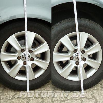 Luftfederung für Volkswagen Transporter - T5 2003-2015 - 2,6t - 3,08t +30mm (Erhöhungskit) Vorderachse & Hinterachse Voll-Luftfederung – Bild 5