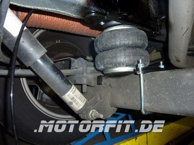 Luftfederung für Ford Transit - FWD Frontantrieb 2006-2013 - Hinterachse - Comfort-Camping-Kit – Bild 3