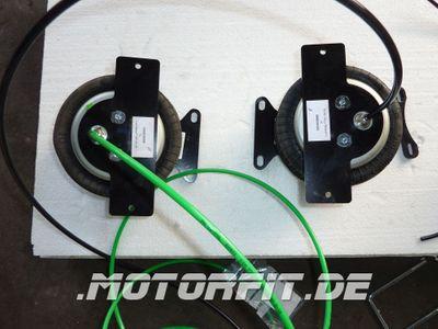 Luftfederung für Ford Transit - FWD Frontantrieb 2006-2013 - Hinterachse - Comfort-Camping-Kit – Bild 5