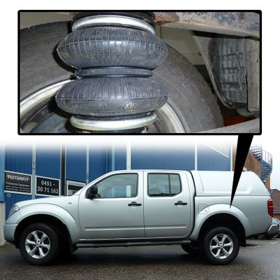 Luftfederung für Nissan Navara - D40 / D401 2004-2015 - Hinterachse - Basis-Kit – Bild 1