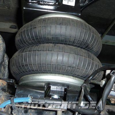 Luftfederung für Ford Transit - DRW Heckantrieb Zwillingsreifen 2006-2013- Hinterachse - Basis-Kit Plus – Bild 1