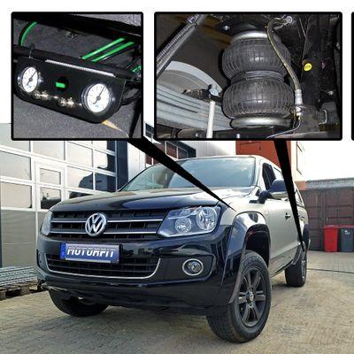Luftfederung für Volkswagen Amarok - Amarok 2010-heute - Hinterachse - Basis-Kit Plus – Bild 1