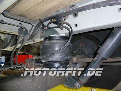 Luftfederung für Ford Transit - FWD Frontantrieb 2001-2006 - Basis-Kit - Vierkantachse 70x90 OHNE Teller – Bild 1