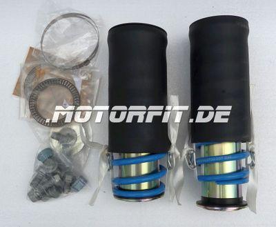 verstärkte Zusatzfedern für MB Sprinter W903 W904 2XX-4XX / LT28-46 1996-2006 - Vorderachse - W903