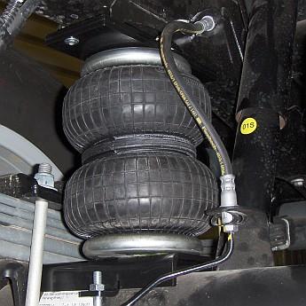 Luftfederung für Opel Movano X62 Heckantrieb Zwillingsreifen 2010-heute - Hinterachse - Basis-Kit – Bild 1