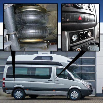 Luftfederung für MB Sprinter W906 2XX-3XX 2006-2018 - Hinterachse - Comfort-Camping-Kit – Bild 1