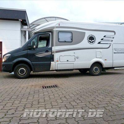 Luftfederung für VW Crafter 2XX-3XX 2006-2016 - Hinterachse - Comfort-Camping-Kit – Bild 7