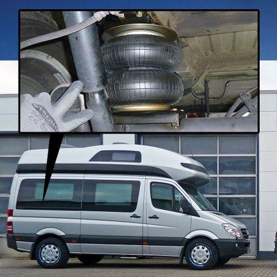 Luftfederung für MB Sprinter W906 4XX-5XX 2006-2018 - Hinterachse - Basis-Kit – Bild 1