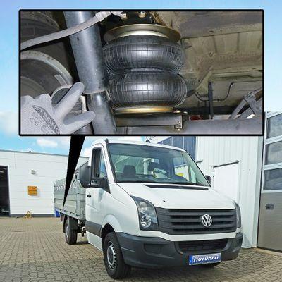 Luftfederung für VW Crafter 4XX-5XX 2006-2016 - Hinterachse - Basis-Kit – Bild 1