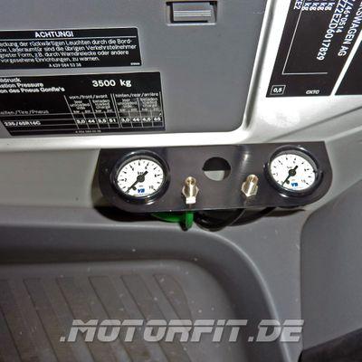 Luftfederung für MB Sprinter W906 4XX-5XX 2006-2018 - Hinterachse - Basis-Kit Plus – Bild 4