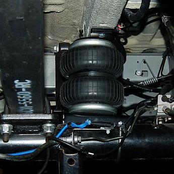 Luftfederung für Renault Trafic X83 2001-heute - Hinterachse - (CoilAir)