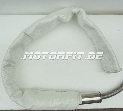 Webasto Abgas-Schutzschlauch L: 1,2m Glasgewebeschlauch Hitzeschutz