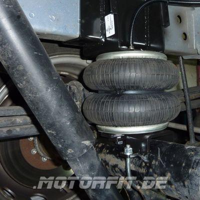 Luftfederung für Ford Transit - RWD Heckantrieb 2006-2013 - Hinterachse - Comfort-Camping-Kit – Bild 2