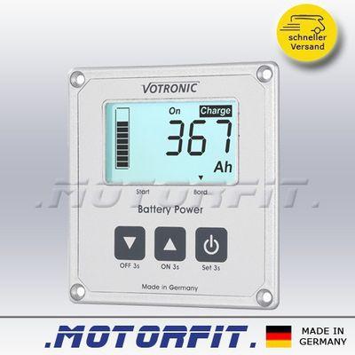 VOTRONIC LCD Batterie Computer 100 S - 200 S - 400 S Smart Shunt + Aufbaugehäuse – Bild 2