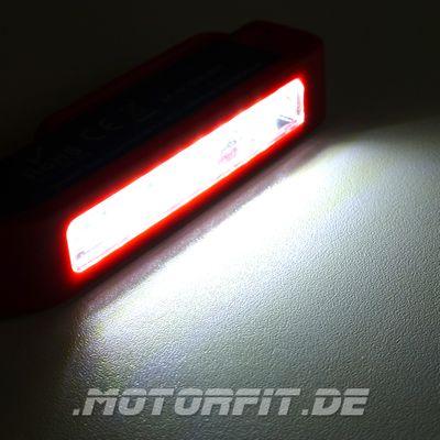 IWETEC LC3 LED Pen-Light Stiftlampe - Magnet-Clip und Boden - 150 Lumen - inkl. 3 AAA Batterien – Bild 3