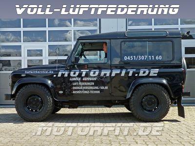 Luftfederung für DEFENDER 90 -Full-Air Kit - LR DEFENDER 90 4- Kreis  - Vorderachse & Hinterachse - - Voll-Luftfederung LR90