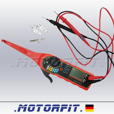 LAUNCH ACT-10 Digitaler KFZ Spannungsprüfer/-tester Stromprüfer mit LCD-Display