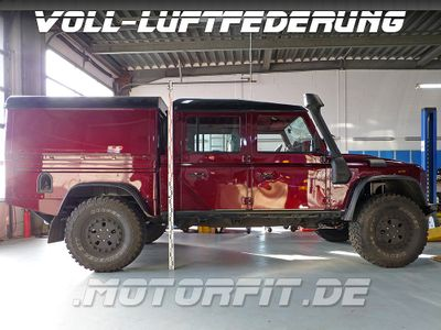 Luftfederung für DEFENDER 130 -Full-Air Kit - LR DEFENDER 130 4- Kreis  - Vorderachse & Hinterachse - - Voll-Luftfederung komplett für LR130 – Bild 1