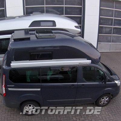 110W / 115W Solar-Komplett Set SCHWARZ passend für Ford Nugget 2 / Westfalia Nugget 2 100 Watt Set – Bild 1