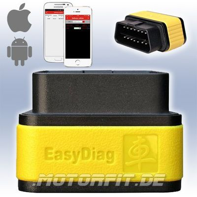 LAUNCH EasyDiag 2.0 PLUS Diagnosegerät ODB2 Volldiagnose KFZ Bluetooth DEUTSCHE Version