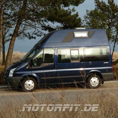 110W / 115W Solar-Komplett Set SCHWARZ passend für Ford Nugget 1 / Westfalia Nugget 1 100 Watt Set – Bild 1
