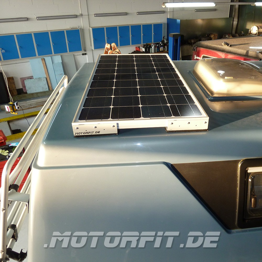 100W/115W Solar-Komplett Set MPP-Regler passend für Ford Nugget 1 ...