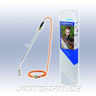 Brenner-Set zum Flächentrocknen, gegen Unkraut etc. für Anschluß Gasflasche