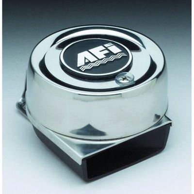 AFI elektrisches Mini Compact Horn  Edelstahl 12 V