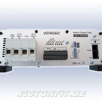 Votronic Battery Charger VBCS 60/40/430 Profi-Set: Triple Ladegerät + LCD-Charge Control + Temperaturfühler – Bild 3