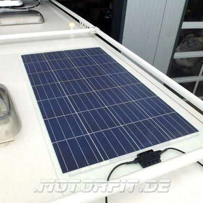 116W Solarmodul 116 Watt 110WP - Semi-Flexibel Solarzellen - extrem widerstandsfähig zum Kleben – Bild 3