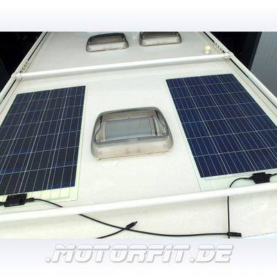 116W Solarmodul 116 Watt 110WP - Semi-Flexibel Solarzellen - extrem widerstandsfähig zum Kleben – Bild 4