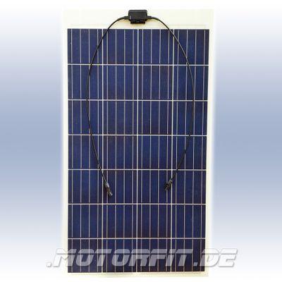 166W Solarmodul 166 Watt 166WP - 673 x 1706 Semi-Flexibel Solarzellen - extrem widerstandsfähig begehbar zum Kleben – Bild 1