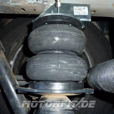 Luftfederung für Ford Transit - FWD Frontantrieb 2001-2006 - Basis-Kit - Vierkantachse 70x90 MIT Teller – Bild 1