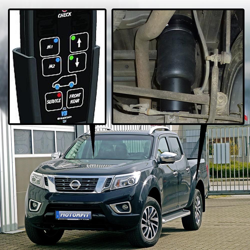 Luftfederung Für Nissan Navara Np300 Typ D23 Double Cab