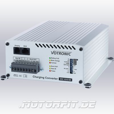 Votronic Lade-Wandler VCC 1212-45 - 12V/45A / VCC1212-45 Ladebooster Booster