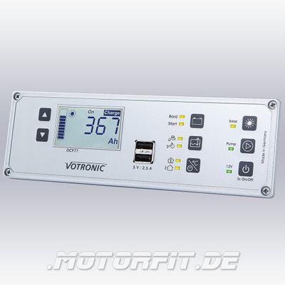 VOTRONIC POWER CONTROL VPC - Jupiter 100 mit Smart-Shunt und Masseband 25 mm²