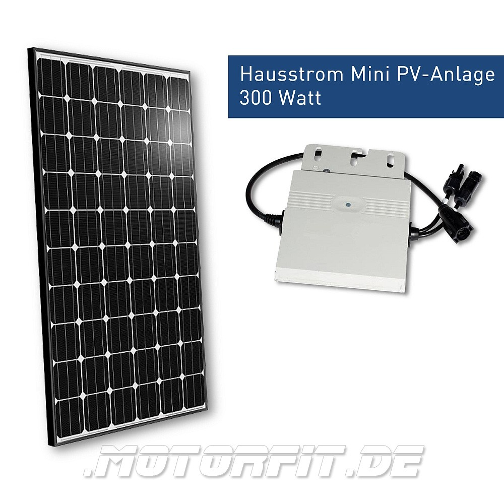 300w hausstrom mini pv anlage 300 watt solar anlagen mobile solar sets komplett solar sets nach. Black Bedroom Furniture Sets. Home Design Ideas