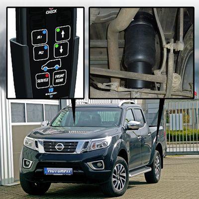 Luftfederung für Nissan Navara NP300 Typ D23 Double Cab Schraubfedern EURO 6 2016-2017 - Hinterachse Voll-Luftfederung – Bild 1