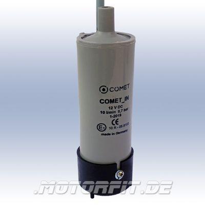 Comet Tauchpumpe - Profiversion für INLINE 12V + Rückschlagventil - 4m Kabel Frischwasserpumpe Kanisterpumpe – Bild 2