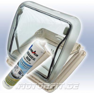 Seitz/Dometic Mini Heki Style für dicke Dächer 43-60mm ohne Zwangsentlüftung Komplett – Bild 1