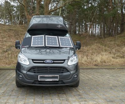 Faltbares Solarpanel Solarset DCsolar Power Move 110Wp 12V Falt- und Tragbar Beschattungssicher! powermove VW California Ford Nugget – Bild 8