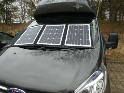 Faltbares Solarpanel Solarset DCsolar Power Move 110Wp 12V Falt- und Tragbar Beschattungssicher! powermove VW California Ford Nugget – Bild 9