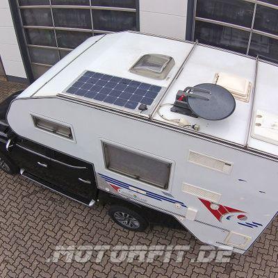 110W SOLARA PANEL - ~440Wh pro Tag - E440M31 flex Sunpower AAA 1110x540x4mm extrem flach begehbar – Bild 1