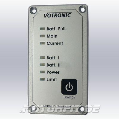Votronic Lade-Wandler VCC 1212-30 - Set ohne / mit Fernbedienung LED LCD 12V/30A Ladebooster mit Temperaturfühler – Bild 5