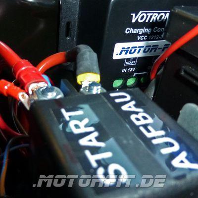 Votronic Lade-Wandler VCC 1212-30 - Set ohne / mit Fernbedienung LED LCD 12V/30A Ladebooster mit Temperaturfühler – Bild 3
