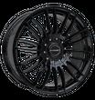 Borbet 4x Leichtmetallfelge CW3 7,5 x 18 Zoll für VW Amarok black glossy Radlast 1250 LK120 Alufelge Alufelgen schwarz Felgensatz