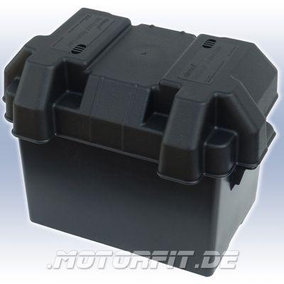 PLASTIMO Batteriekasten 270x180x257mm Innemaß: 290x195x260mm + Gurt + Schnalle Batteriebox Batteriehalter – Bild 1