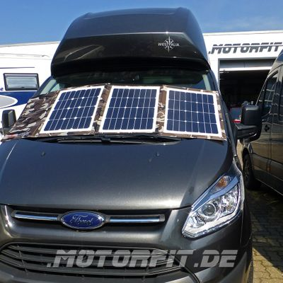 Faltbares Solarset SONDEREDITION Camouflage Army-Look DCsolar Power Move 110Wp 12V Falt- und Tragbar Beschattungssicher! VW California Ford Nugget Solarpanel – Bild 2